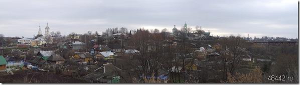 Панорама Козельска